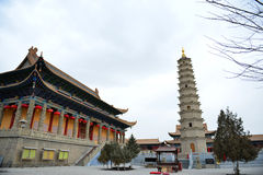 The Tower of Kumarajiva Temple Royalty Free Stock Photo
