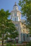 Tower of Kunstkamera museum in St. Petersburg Stock Image