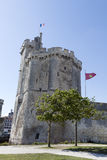 Tower of La Rochelle port on France's Atlantic coast Stock Photography