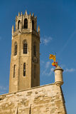 Tower of La Seu Royalty Free Stock Photography