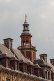 The tower of La vieille bourse de Lille Royalty Free Stock Photography