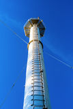 Tower with a ladder against the sky.n Stock Photo