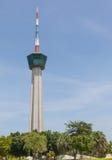 Tower at Laemchabang seaport at Thailand Royalty Free Stock Image