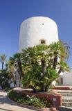 Tower landmark of Cabo Roig Stock Images