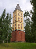 The Tower of the Lappee Church Royalty Free Stock Images