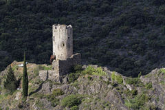 Tower in Lastours Royalty Free Stock Image