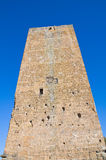 Tower of Lavello. Tuscania. Lazio. Italy. Stock Images