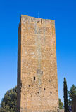 Tower of Lavello. Tuscania. Lazio. Italy. Stock Image