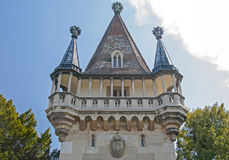 Tower at Laxenburg castle in Vienna Stock Image