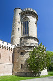 Tower at Laxenburg castle in Vienna Royalty Free Stock Photo