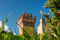 Tower in Lazise, Lake Garda Stock Image