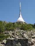 Tower Liberec Jested Royalty Free Stock Images