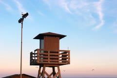 Tower lifeguard Royalty Free Stock Photos