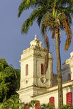 Tower. Little church tower of the Museum of Modern Art in Salvador Stock Photography