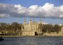 The Tower of London. The Tower of London on the river Thames Royalty Free Stock Photography