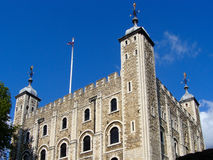 Tower of London. The Tower of London, a famous historic landmark and world heritage site. It is also one of London's biggest tourist attractions Royalty Free Stock Image