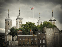 Tower of London. UK, famous medieval castle and prison Stock Photography