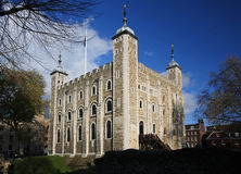 The Tower of London. The historic Tower of London Royalty Free Stock Photos