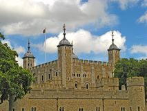 Tower of London 23. The famous Tower of London castle and prison in London, England, UK Royalty Free Stock Image