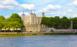 Tower of London. England.View across the Thames Stock Images