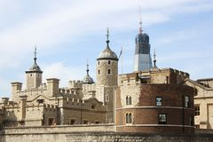 Tower of London. England, Great Britain Stock Photos