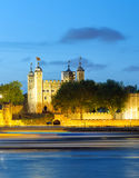 Tower of London. At night Stock Photography