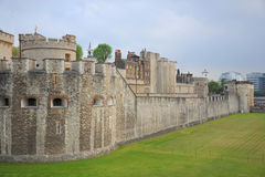Tower of London. The Tower of London fortress castle, taken in early summer, England, United Kingdom Stock Images