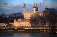 Tower of London. The Tower of London from across the Thames Stock Photography