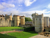 Tower of London. In London, UK, great sky Royalty Free Stock Photography