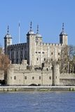 Tower of London. View across the Thames Stock Photography