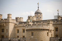 The Tower of London. Fortress and museum of london Stock Images