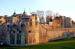 Tower of London. Image of the Tower of London Stock Photography