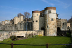 Tower of London. This is the famous Tower of London Stock Images