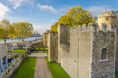 The Tower of London in autumn Stock Photography