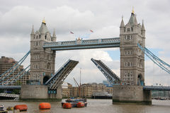 Tower (London) Bridge Royalty Free Stock Photo