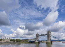 Tower of london and Bridge Stock Photography