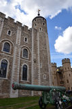Tower of London cannon Royalty Free Stock Photos