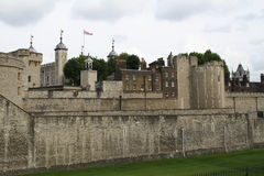 The Tower of London Castle Royalty Free Stock Photo