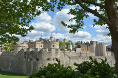 Tower of London in City of London - London UK Royalty Free Stock Images
