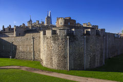 Tower of London corner Royalty Free Stock Photo