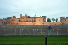 The Tower of London at dawn Stock Photos