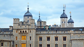 Tower of London at dusk Stock Images