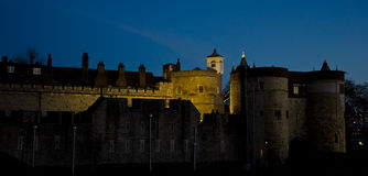 Tower of London. The Tower of London at dusk Royalty Free Stock Image
