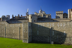 Tower of London eastern side Royalty Free Stock Photos