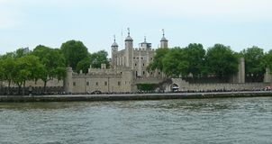 The Tower of London in England Stock Image
