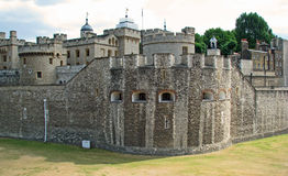 Tower of London (England). Historic castle of the Tower of London (England Stock Photography