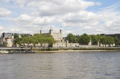 The Tower of London. England Royalty Free Stock Image
