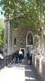 Tower of London, England Royalty Free Stock Photos