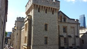 Tower of London, England Royalty Free Stock Photography