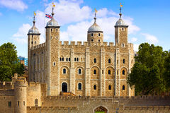 Tower of London in England Royalty Free Stock Photo